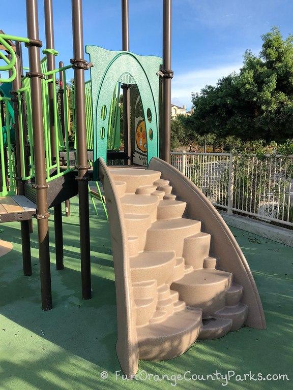 bear brand park - steps to climb