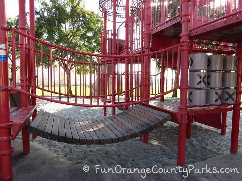 red barn park talega san clemente - playground bridge