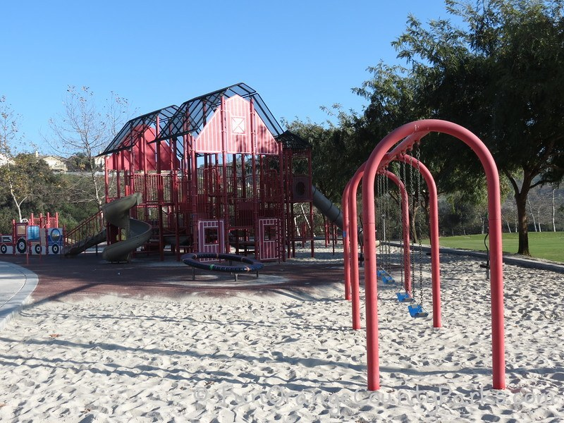 red barn park talega san clemente - swings and playground