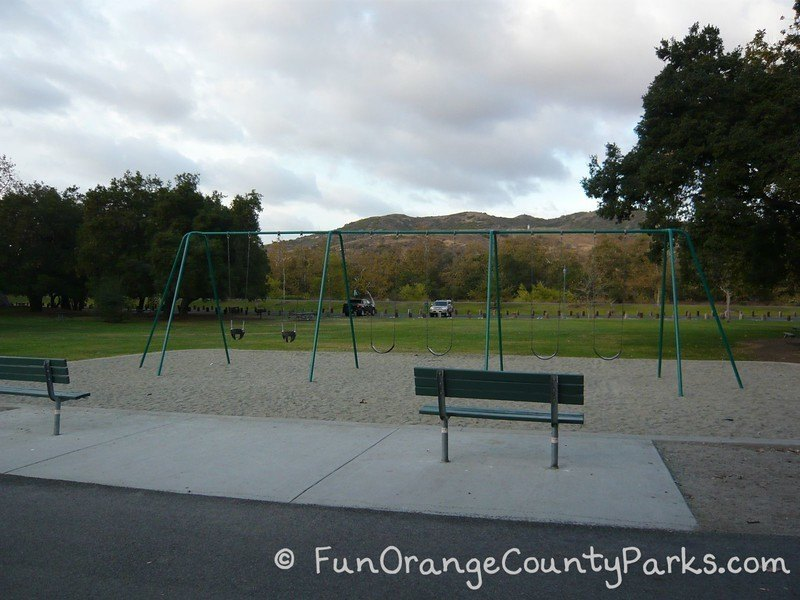 Irvine Regional Park swing area