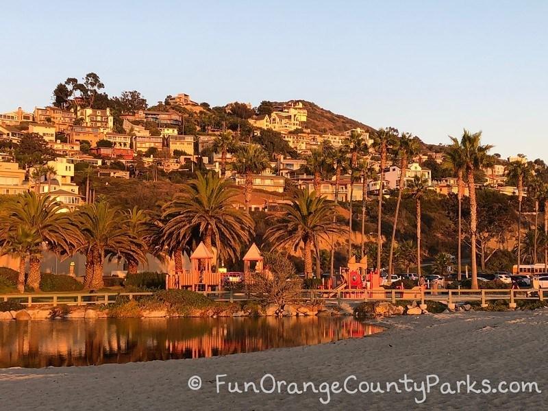 Aliso Beach Park Playground Lagoon