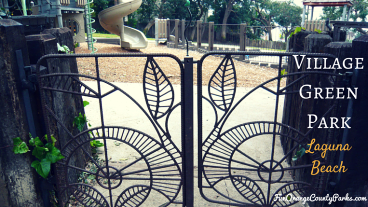 Village Green Park: Artistic Garden Gates Open to Play