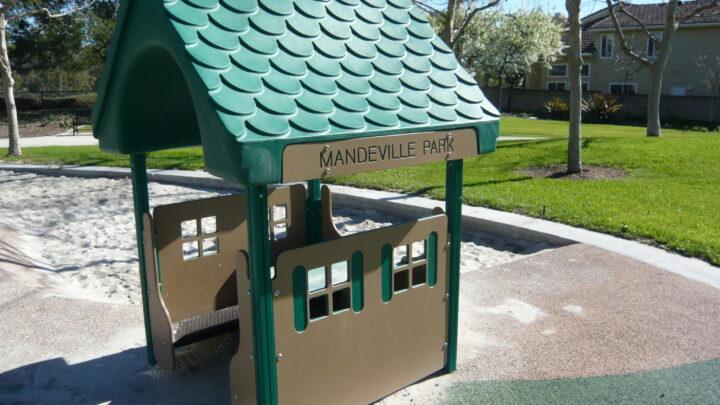 Mandeville Park: Palm Trees Create a Playful Oasis