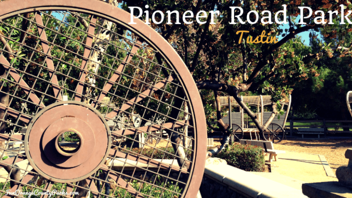 Pioneer Road Park: Log Cabin Picnicking and Uncovered Wagons