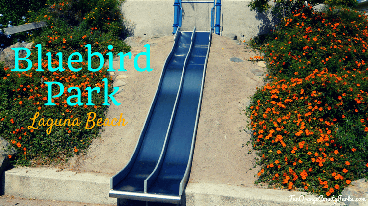 Bluebird Park Laguna Beach metal slides