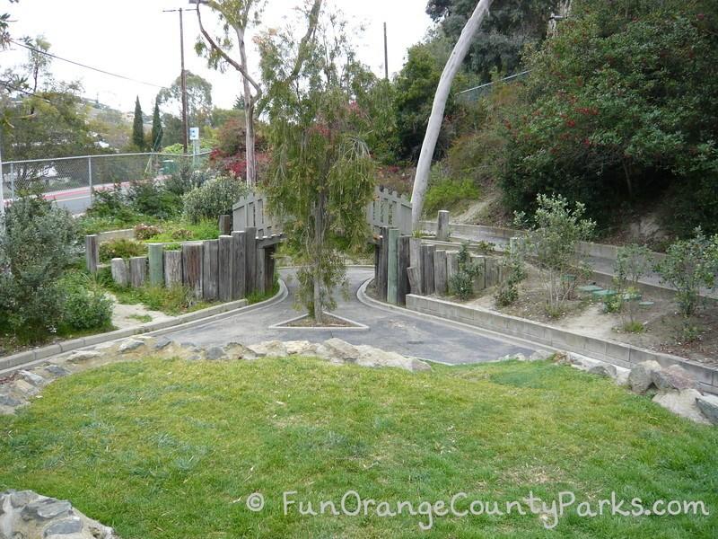 Bluebird park trike track