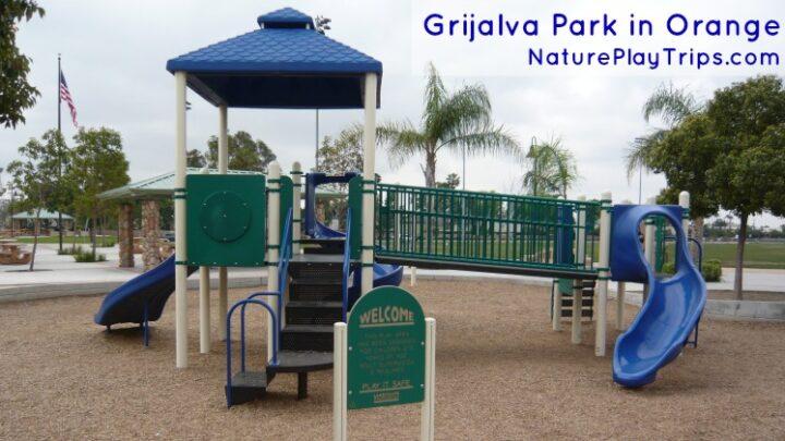 Grijalva Community Park: Fun Foot Bridge and Multiple Monkey Bars