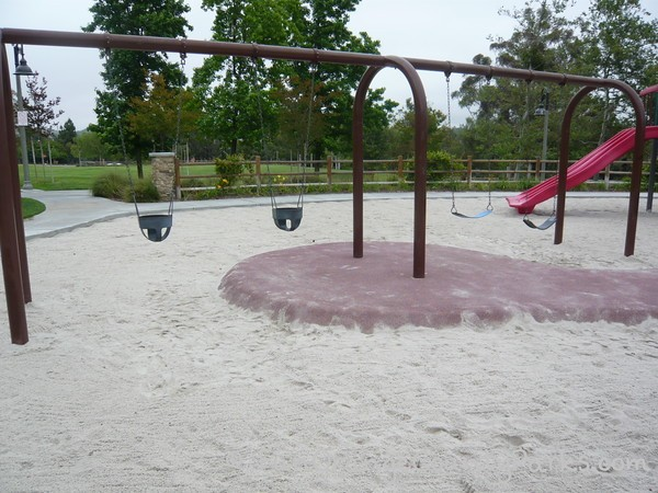 Baby Swings and Bench Swings at Aurora Park in Mission Viejo