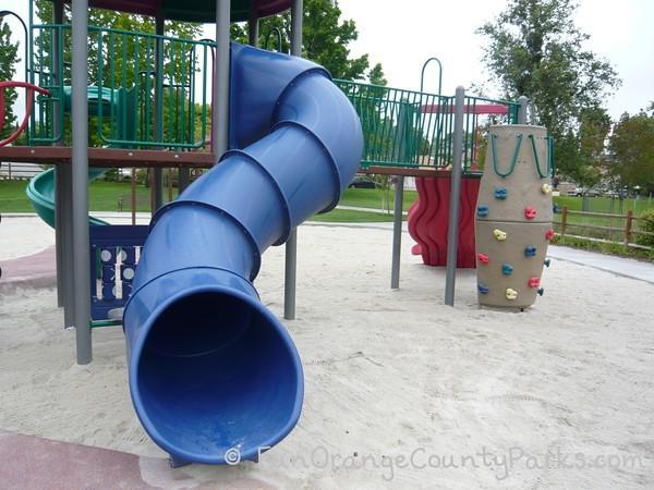 Tunnel Slide at Aurora Park in Mission Viejo