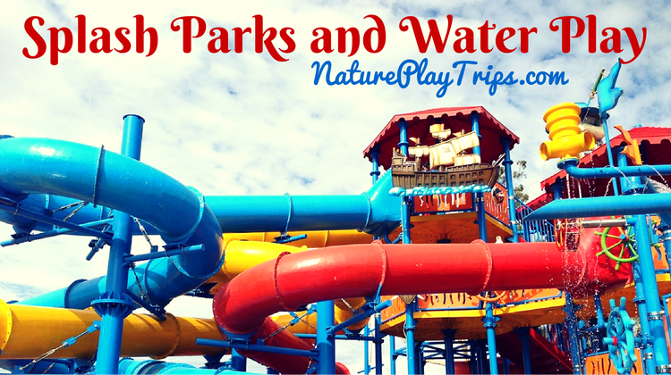 Splash Parks and Water Play in Southern California
