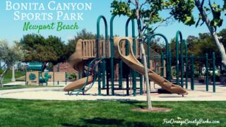 bonita canyon sports park newport beach - playground