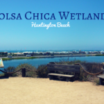 bolsa chica wetlands huntington beach overlook on hike