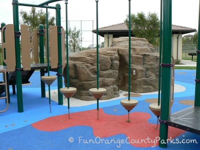 coastal peak park newport beach - pedestal trail on play equipment