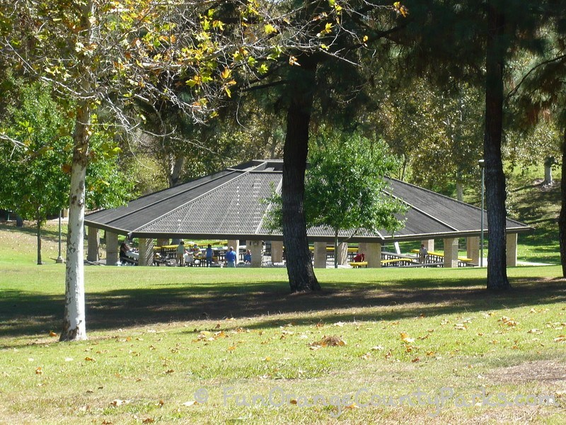 craig regional park fullerton - large picnic shelter