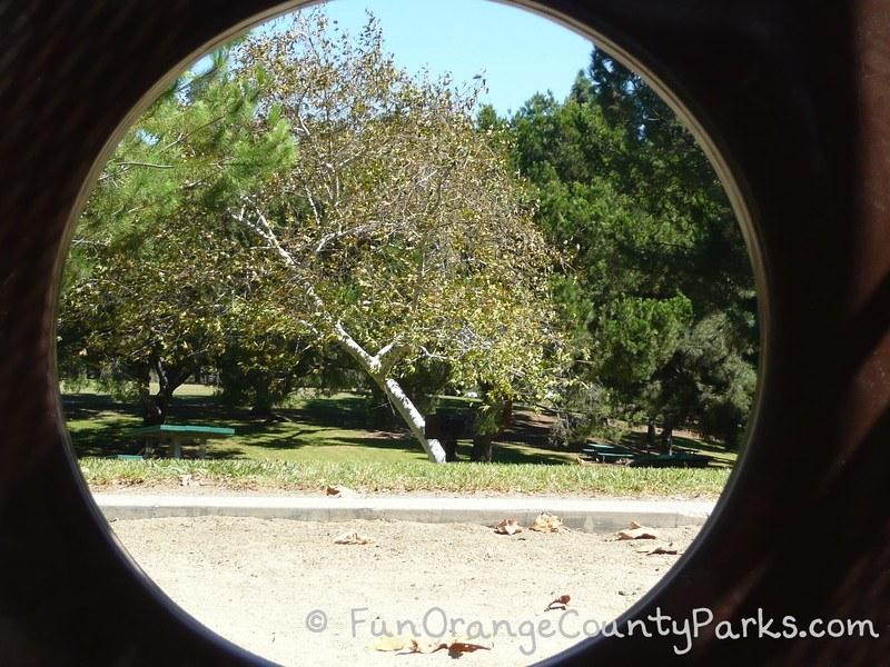 craig regional park fullerton - view of picnic area through play equipment