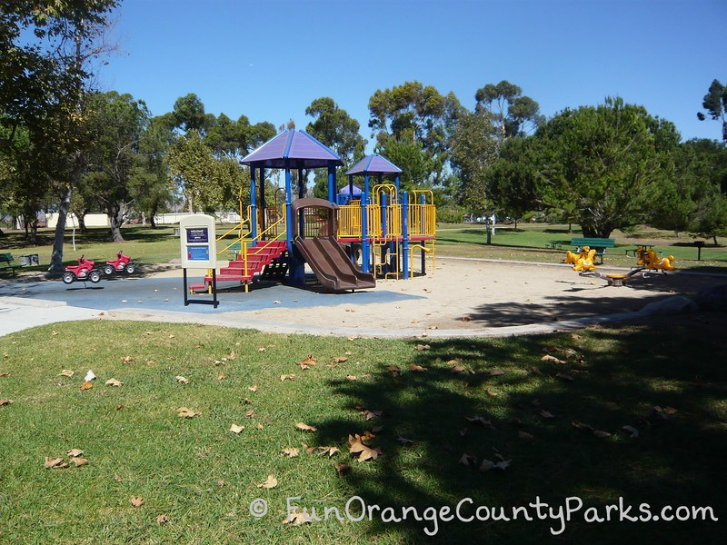 craig regional park fullerton - toddler playground with ride on toys