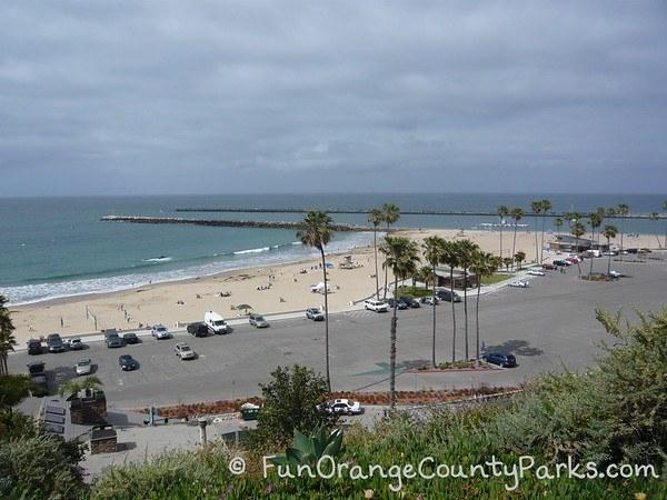 Corona del Mar State Beach parking lot