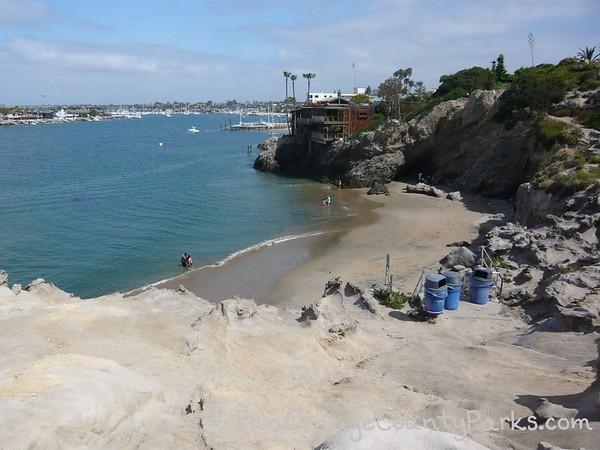 Pirate's Cove at Corona del Mar State Beach