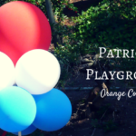 Patriotic OC Playgrounds: Play in Red, White and Blue Glory