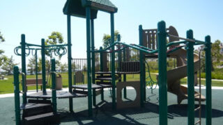 Fred Barrera Park: Take a Spin on the Walking Trail or Hang from Loopy Monkey Bars