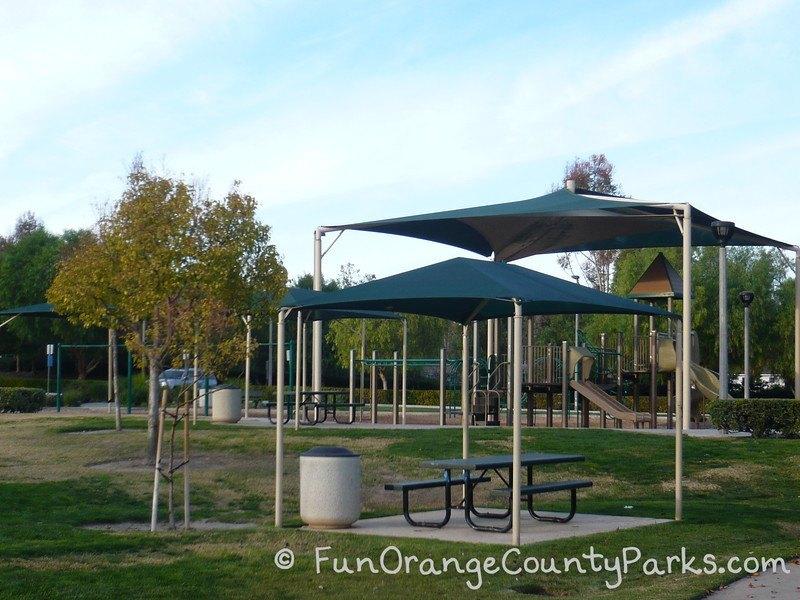 aliso viejo community park shade covers