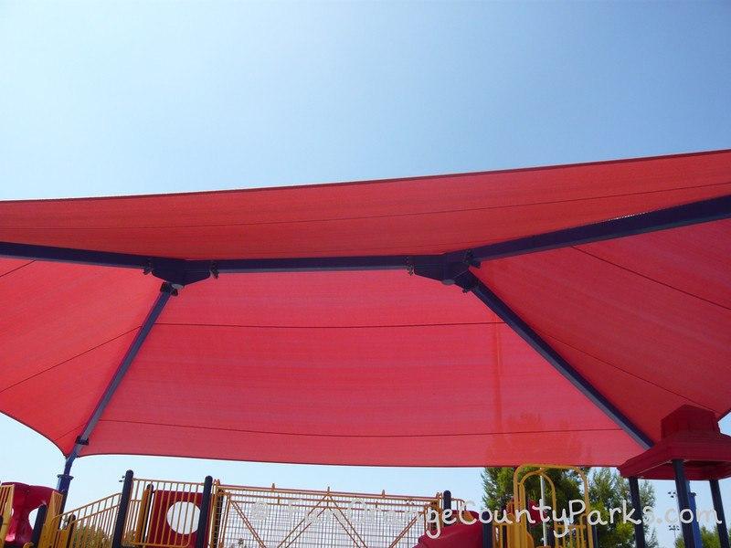 tustin sports park shade covers