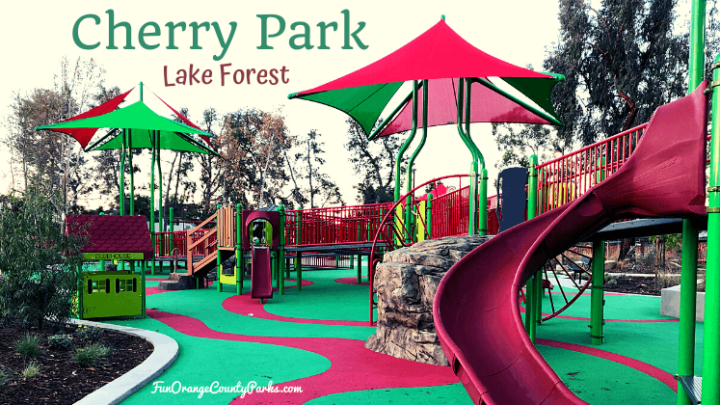 Cherry Park in Lake Forest: Accessible Playground in the Neighborhood