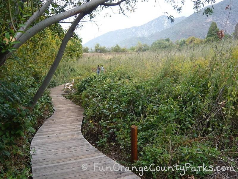 oak glen preserve wildlands conservancy boardwalk trail