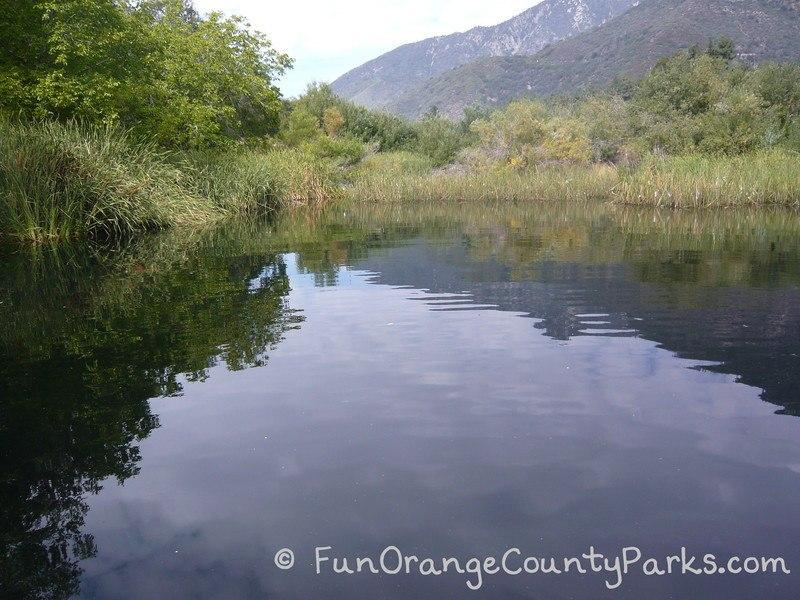 oak glen preserve wildlands conservancy reflection pond