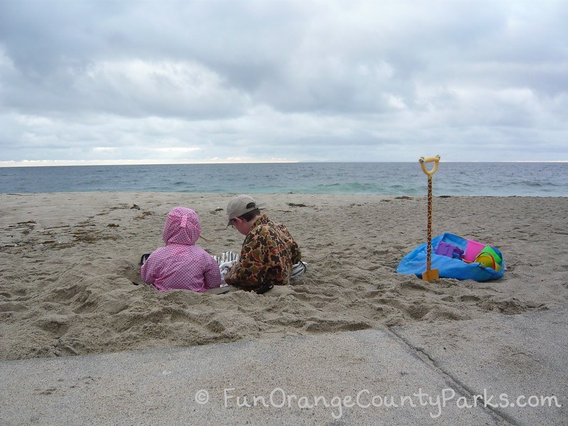 rainy day play ideas orange county - aliso beach park