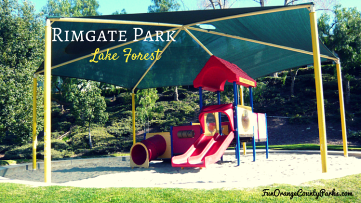 Rimgate Park in Lake Forest: Bounce a Ball and Play Tag