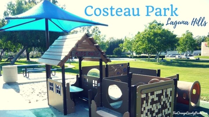 Costeau Park in Laguna Hills: Climb into a Kids Only Treehouse