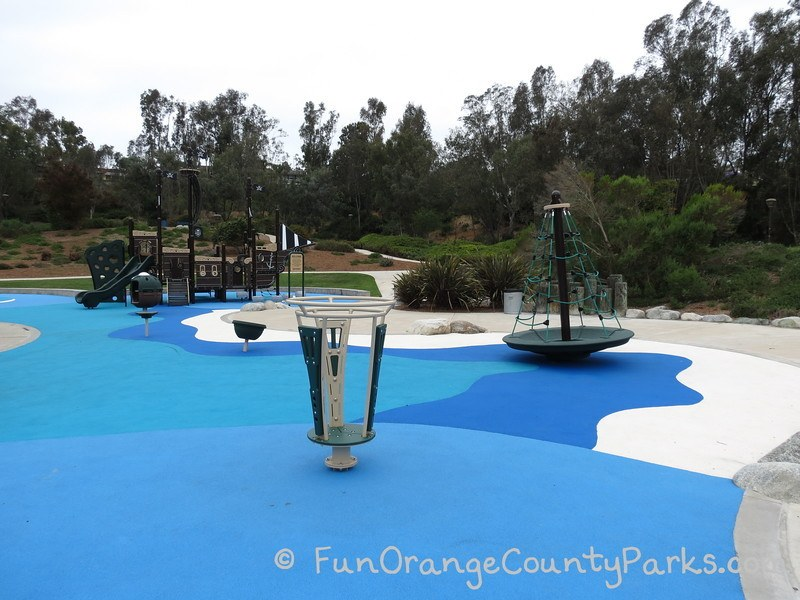 Clipper Cove Park in Laguna Niguel with no sand
