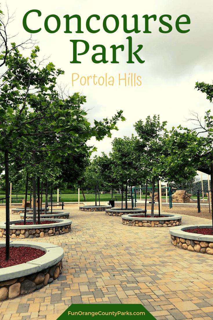 concourse park portola hills pin