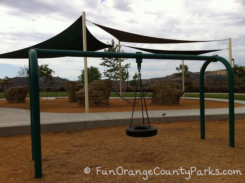 concourse park portola hills - tire swing