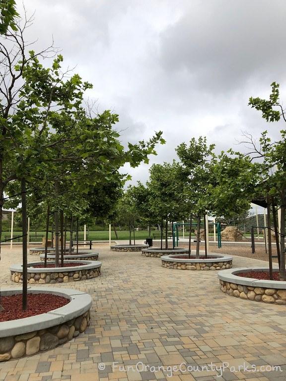 concourse park portola hills - trees