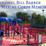 Colonel Bill Barber Marine Corps Memorial Park in Irvine