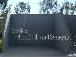 Parks with Outdoor Handball and Racquetball Courts