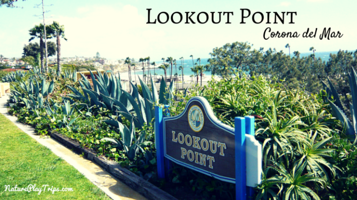 Lookout Point in Corona Del Mar: Views of Newport Harbor and Catalina