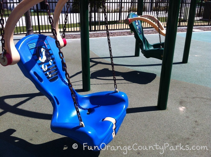 Courtney's Sandcastle Accessible Playground San Clemente - accessible swing