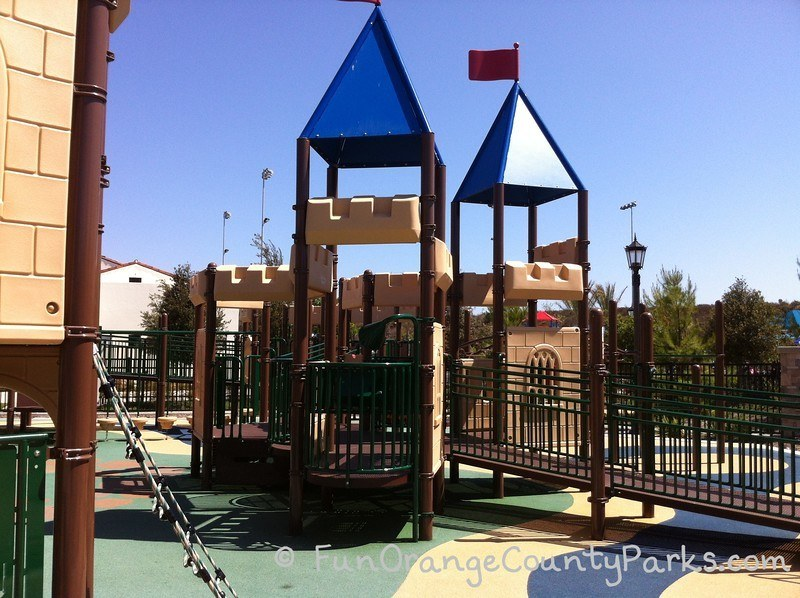 Courtney's Sandcastle Accessible Playground San Clemente - castle playground