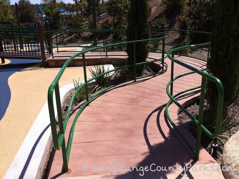 Courtney's Sandcastle Accessible Playground San Clemente - ramp