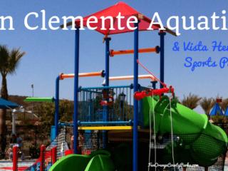 san clemente aquatics center and vista hermosa sports park