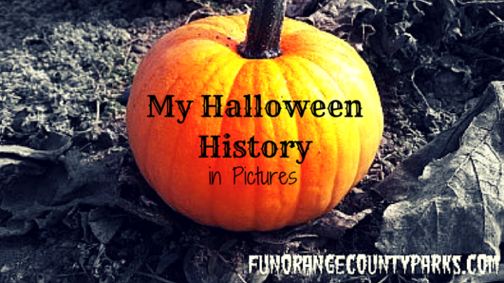 My Halloween History in Pictures