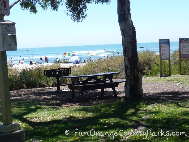 Doheny Barbecue Near the Beach and Picnic Area in Dana Point