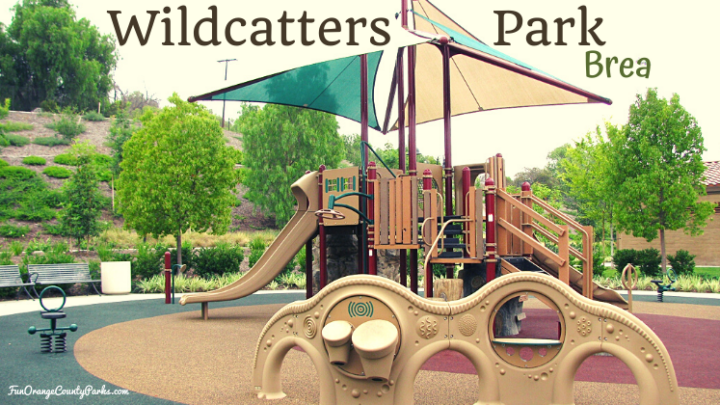Wildcatters Park in Brea: Benches Galore for Parents and Climbing for Kids
