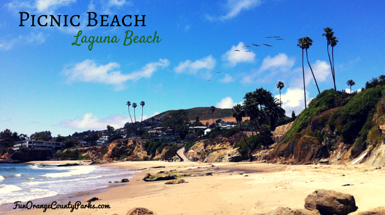 Picnic Beach In Laguna Beach For Sandcastle Building And