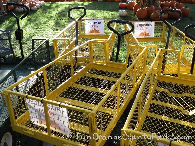irvine park railroad pumpkin patch carts