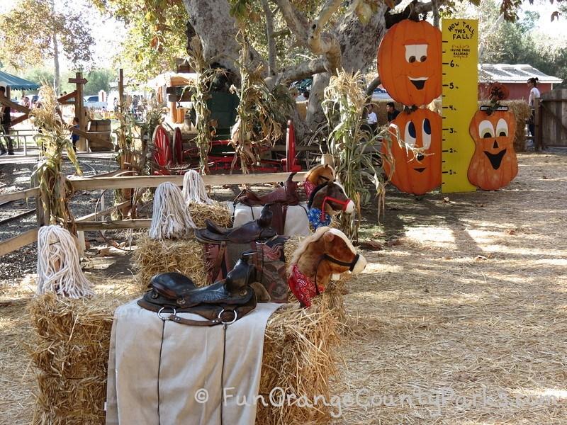 irvine park railroad pumpkin patch horses