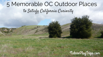 5 Memorable Outdoor Places to Satisfy California Curiosity